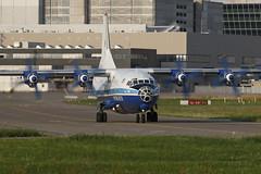 UR-11316 ZRH 03.07.2019 (Benjamin Schudel) Tags: zrh lszh zurich international airport ur11316 antonov an12 motorsich