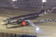 "Embraer E195-E2 PR-ZIQ ""Profit Hunter"" 008 (A.S. Kevin N.V.M.M. Chung) Tags: aviation aircraft aeroplane airport airlines apron plane spotting mfm macauinternationalairport night erj erj190400std e195e2 e195 embraer light profithunter speciallivery"