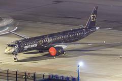 "Embraer E195-E2 PR-ZIQ ""Profit Hunter"" 006 (A.S. Kevin N.V.M.M. Chung) Tags: aviation aircraft aeroplane airport airlines apron plane spotting mfm macauinternationalairport night erj erj190400std e195e2 e195 embraer profithunter speciallivery"