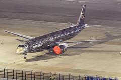 "Embraer E195-E2 PR-ZIQ ""Profit Hunter"" 001 (A.S. Kevin N.V.M.M. Chung) Tags: aviation aircraft aeroplane airport airlines apron plane spotting mfm macauinternationalairport night erj erj190400std e195e2 e195 embraer profithunter speciallivery"