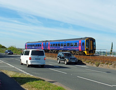 158763 Starcross (Marky7890) Tags: gwr 158763 class158 expresssprinter 2t25 starcross railway devon rivieraline train
