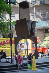 Two (thoth1618) Tags: street nyc 2 two sculpture ny bronze john t gold o manhattan district w financialdistrict gustavo lower financial mn bennett lowermanhattan johnbennett 2goldstreet gustavobonevardi bonevardi