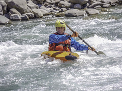 Sports d'eaux vives (Eric Leroy Olympus Passion OMD & Pen) Tags: olympus alpes river x rivière paca provence zuiko omd haute ubaye mkii em1 mc20 em1mkii wwwolympuspassionfr em1x