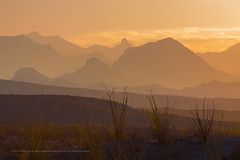 Chisos Mountains Sunrise