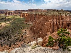 Cathedral Valley (usareisetipps) Tags: usa travel cathedralvalley capitolreef utah landscape hiking overlook
