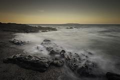 Glistening Shore (Ger208k) Tags: dublin highrock ireland malahide lambayisland le littlestopper rocks shoreline dusk sunset seascape gerardmcgrath
