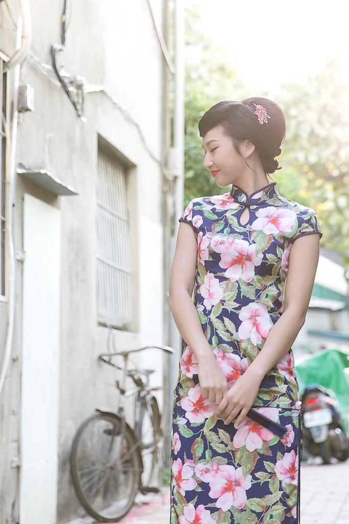 台南旗跑 | 旗袍寫真 7