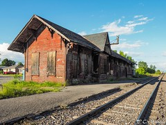 190625-73 La vieille gare (clamato39) Tags: gare trainstation abandoned abandon old vieux olympus provincedequébec canada rural