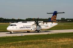 D-ANFJ (PlanePixNase) Tags: hannover aircraft airport planespotting haj eddv langenhagen contactair lufthansa atr 72 atr72