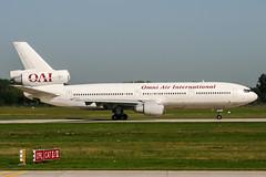 N630AX (PlanePixNase) Tags: hannover aircraft airport planespotting haj eddv langenhagen mcdonnell douglas dc1030 dc10 omniairinternational omni