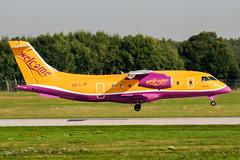 OE-LJR (PlanePixNase) Tags: hannover aircraft airport planespotting haj eddv langenhagen welcomeair dornier do328 do328jet