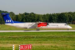 LN-RDQ (PlanePixNase) Tags: hannover aircraft airport planespotting haj eddv langenhagen sas scandinavian dash8 dh4