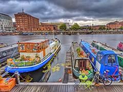 Royal Albert Dock, Liverpool (pallab seth) Tags: royalalbertdock liverpool waterfront merseyside portcity heritage unescoworldheritagesite landscape cityscape evening england city summer tourism touristdestination mobilephotography