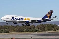 N263SG AtlasAir Boeing 747-481 (johnedmond) Tags: perth ypph westernaustralia atlas boeing b747 jumbo queenoftheskies australia aviation aircraft aeroplane airplane airliner plane ef100400mmf4556lisiiusm eos7d canon