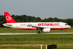 TC-OGJ (PlanePixNase) Tags: hannover aircraft airport planespotting haj eddv langenhagen atlasjet a320 airbus