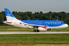 G-DBCE (PlanePixNase) Tags: hannover aircraft airport planespotting haj eddv langenhagen bmi british midland 319 a319