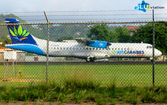 F-OIJK (Lyndon Henry) Tags: air caraibes atr72 george charles tlpc slu airport vigie castries stlucia