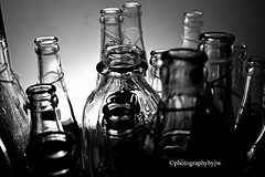 Bottles in Black and White (Photographybyjw) Tags: bottles black white shelf full old found north carolina ©photographybyjw rural country