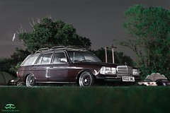 Mercedes-Benz W123 Wagon (TimelessWorks) Tags: time less works timeless timelessworks tw goodwood retro rides retrorides weekender retroridesweekender rrw 2019 england auto car automobile automotive vehicle bil carmeet event carevent carshow track circuit low lowered lowlife stance fitment modified tuning becauseracecar euro edm european mercedes benz merc