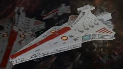 Ventor Class Stardestroyer (Dunkler Vater) Tags: starwars episode 3 lego tfol roguebricks therevengeofthesith venator class stardestroyer