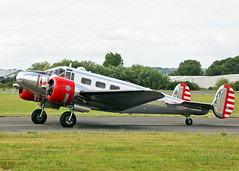 N21FS Beech 3NM Expeditor (Keith B Pics) Tags: londonsouthendairport keithbpics egmc sen grenchen lszg n21fs beech expeditor beech18 beech3nm aircraftguarantycorp duxford