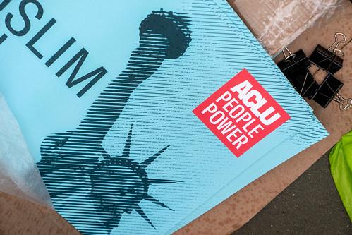 ACLU People Power sign