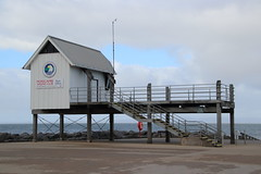 Morecambe Sailing Club race office building (Ian Press Photography) Tags: morecambe lancs lancashire seaside sea side coast sailing club building race office
