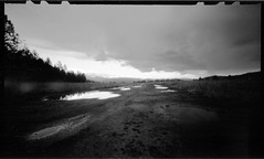 Lesser Roads of Montana (Leland Buck Photography) Tags: kodaktx400 6x9 landscape pinhole greenough film montana zeroimage6x9 zeroimage tx400 kodak usa stenope estenopeica lochkamera