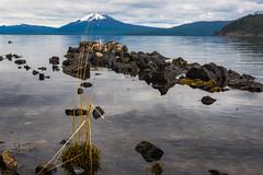 Show me where the key is kept (.KiLTЯo.) Tags: kiltro cl chile patagonia magallanes tierradelfuego lagoblanco lake water nature mountain landscape clouds rocks