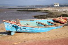 'Hopeful' on the beach at Morecambe (Ian Press Photography) Tags: hopeful beach morecambe lancs lancashire seaside sea side coast boat