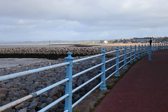 Railings at Morecambe (Ian Press Photography) Tags: morecambe lancs lancashire seaside sea side coast railings