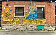 Coal Chute - Ottawa  07 19 (Mikey G Ottawa) Tags: mikeygottawa canada ontario ottawa street city wall paint mural ad reklame adelsteins explored explore