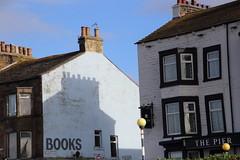 Morecambe shadow (Ian Press Photography) Tags: morecambe lancs lancashire seaside sea side coast shadow shadows books