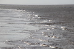 Waves off Morecambe shore (Ian Press Photography) Tags: morecambe lancs lancashire seaside sea side coast waves shore off
