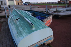 Boats on the Stone Jetty at Morecambe (Ian Press Photography) Tags: morecambe lancs lancashire seaside sea side coast boats stone jetty dinghy dinghies derelict