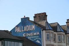 Palladium Cinema sign at Morecambe (Ian Press Photography) Tags: morecambe lancs lancashire seaside sea side coast palladium cinema sign