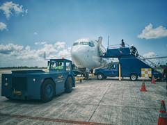 Philip S.W. Goldson International Airport, Belize (Jonmikel & Kat-YSNP) Tags: airplane plane jet airport belize