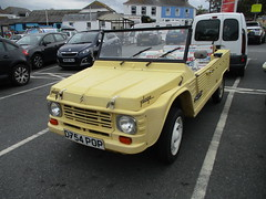 1987 Citroen Mehari Plage (occama) Tags: 1987 citroen d754pop old uk summer beach car yellow cornwall open 2cv buggy plage mehari