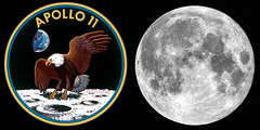 From Apollo 11 to Now (edmason88) Tags: apollo11 moonmission july 1969 fullmoon2019 tamron150600 giantstep frontstep spacethefinalfrontier