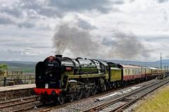 High Standard: 70000 (Gerald Nicholl) Tags: 70000 britannia pacific ribblehead yorkshire settle carlisle express saphos lsl fellsman steam engine loco locomotive