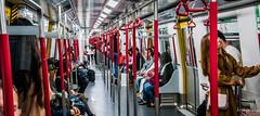 2019 - Hong Kong - 37 (Ted's photos - For Me & You) Tags: 2019 cropped hongkong nikon nikond750 nikonfx tedmcgrath tedsphotos vignetting mtr hongkongmtr masstransitrailway hongkongmasstransitrailway masstransitrailwayhongkong mtrhongkong subway publictransit transit people red redrule
