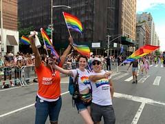 9187e055-2783-4733-ae0a-b5981452a98f (AFS-USA Intercultural Programs) Tags: 2019 afs usa pride march nyc parade staff students lgbtq