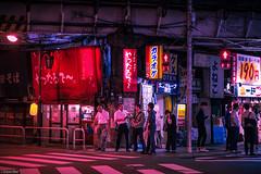 Kanda's Night (Toine B.) Tags: tokyo kanda street city nightphotography japan night streetlight asia nightlights streetphotography nuit japon