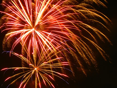 Fireworks V (2019) (Pandora-no-hako) Tags: fireworks fourthofjuly independenceday holiday indiana indianapolis 2019 downtown night sky freedomblast