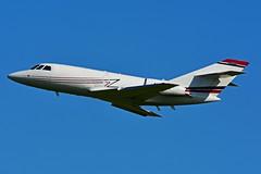 N20WK (Royal Air Freight) (Steelhead 2010) Tags: royalairfreight dassault falcon f20 cargo freighter yhm nreg n20wk