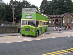 BUF 267C Leyland Titan PD3 'Queen Mary' Open Top Bus - Southdown 267 (Ray's Photo Collection) Tags: opentop bus leyland southdown haworth queenmary buf267c 267 west yorkshire keighleyandworthvalleyrailway keighleyworthvalleyrailway