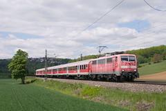 Bühne frei... (805_16) Tags: db rb gleis eisenbahn uhingen filstalbahn filstal 111 nwagen