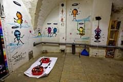 Graffiti 2019 in Neuf-Brisach (pharoahsax) Tags: graffiti frankreich kunst orte elsass objekte neufbrisach graffitykuenstler artist br da rocinha wark
