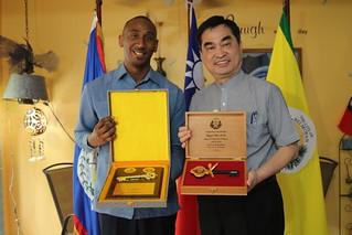 Visit of Deputy Mayor of Taipei to Belmopan