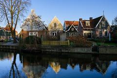 Edam (Julysha) Tags: edam winter february acr 2018 town canal thenetherlands noordholland reflection nikkor1855afp d7200